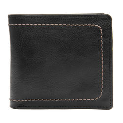 258-150 Men's wallet,  black, roma