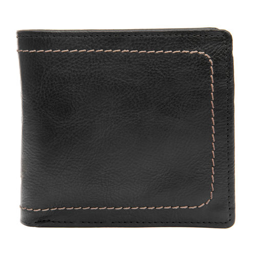 258-150 Men s wallet,  black, roma