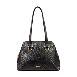 CERA 01 WOMENS HANDBAG, ELEPHANT,  black