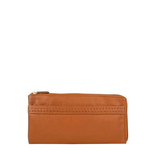 Mina W4 Women s wallet, Roma Melbourne Ranch,  tan