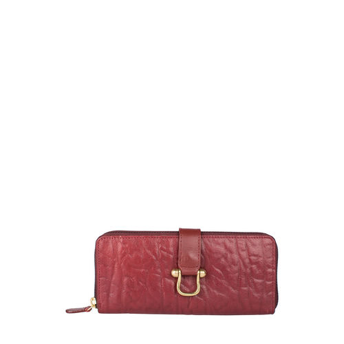 Cera W3 Women s Wallet, Elephant Melbourne Ranch,  red
