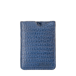 242Mc 02 Mobile Pouch, Cement Pebble,  blue