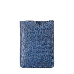 242Mc 02 Mobile Pouch, Cement Pebble,  blue