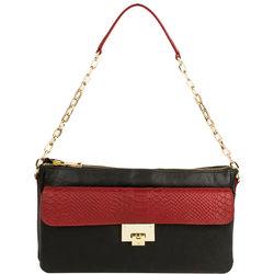 Dolce W2 Handbag, snake,  red