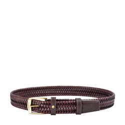 Arezzo Men's Belt Soho Woven, 36-38,  tan