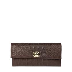 Savoy W2 (Rfid) Women's Wallet, Baby Croco Mel Ranch,  brown