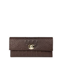 Savoy W2 Men's wallet, baby croco,  brown
