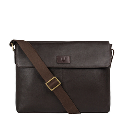Ee Pluto 01 Messenger Bag, Regular,  brown
