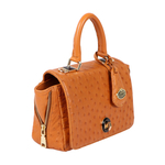 Azur Women s Handbag Ostrich,  tan