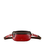 HIDESIGN X KALKI GYPSY 01 BELT BAG RANCH,  red