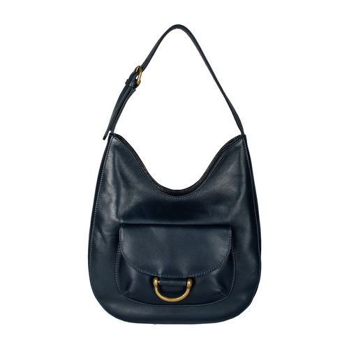 Chestnut 02 E. I Women s Handbag, E. I. Sheep Veg,  midnight blue