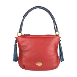 Nappa 01 Women's Handbag, Cow Deer Mel Ranch,  red