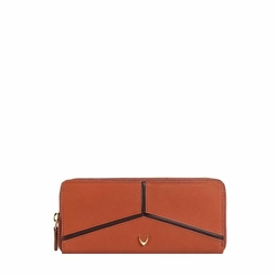 HIDESIGN X KALKI STAR W1(RFID) WOMEN'S WALLET DENVER,  tan