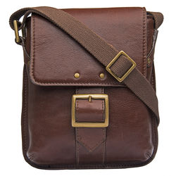 Vespucci 01 Crossbody,  brown, khyber