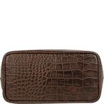 Bonn Women s Handbag, Croco,  brown