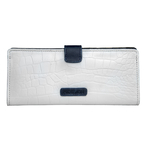 SB ATRIA W1 WOMEN S WALLETS CEMENT CROCO,  white