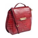 Hidesign X Kalki Alive 03 Women s Sling bag, Croco Melbourne Ranch,  red