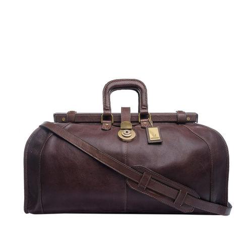 Safari Travel Bag, Soweto Maori,  brown
