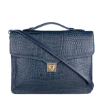 Stampa 03 Women s Handbag, Croco Melbourne Ranch,  blue