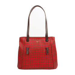 EE LEANDRA 02 WOMENS HANDBAG MARAKKECH,  red