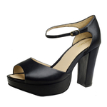 Marilyn Women s Shoes, Suede,  black