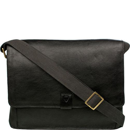 Aiden 01 Messenger bag, Ranchero,  black