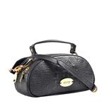 Hidesign X Kalki Infinite 02 Women s Handbag Baby Croco,  black