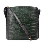 Scorpio 03 Sb Women s Handbag Croco,  emerald green