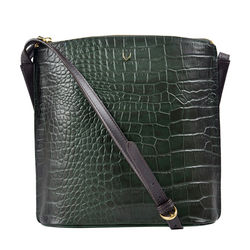Scorpio 03 Sb Women's Handbag, Croco Melbourne Ranch,  green