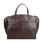 Cera 04 Women s Handbag, Elephant Melbourne Ranch,  brown