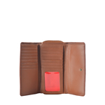 Stitch W3 (Rfid) Women s Wallet, Roma Melbourne,  tan