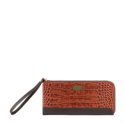 Spruce W3 Sb (Rfid) Women's Wallet Croco,  tan