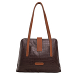 Atria 03 Women s Handbag Cement Croco,  brown,  brown