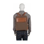 Plato 03 Back Pack, Canvas Soho,  desert palm