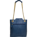 SB ALYA 02 WOMEN S HANDBAG SNAKE,  midnight blue