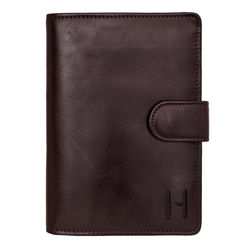 254-Ph Men's wallet,  brown, ranch