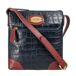 Saturn 02 Sb Women's Handbag Croco,  midnight blue