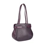 Brigitte 01 Women s Handbag, Snake Ranch Melbourne,  aubergine