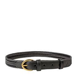 Florence Women's Belt, Ranchero, Free Size,  black