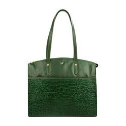 Sb Fabiola 01 Handbag, croco,  emerald