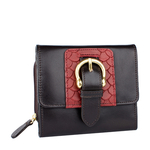 Shanghai W3 Sb Women s Wallet, Melbourne Ranch Snake,  brown