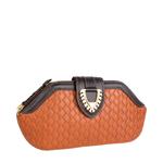 Ee Liya W1 Women s Wallet, Woven,  tan