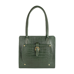 Mercury 02 Sb Women's Handbag, Cow Croco Melbourne Ranch,  green