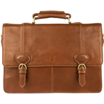 Parker 03 Briefcase,  tan, regular