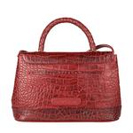 Epocca 03 Women s Handbag, Croco Melbourne Ranch,  red