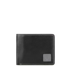 36-01 SB (RFID) MEN'S WALLET REGULAR PRINTED,  black