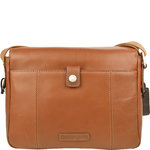 Stephenson 03 Men s Messanger Bag, Soho,  tan