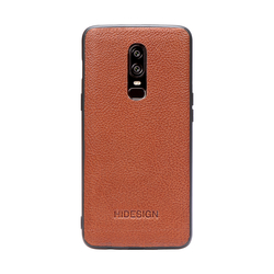 ONE PLUS 6 MOBILEPHONE CASE KALAHARI,  tan