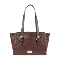 Dubai 01 Sb Women's Handbag Ostrich,  brown