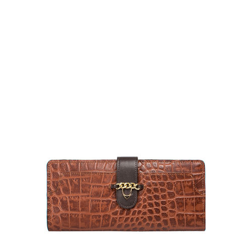 Sb Atria W1 (Rfid) Women s Wallet Croco,  tan